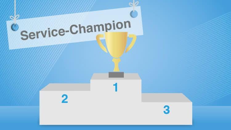 Welt kürt Onlineversicherung.de zum Service-Champion