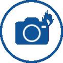 Überspannung und Brandschäden bei Kameras