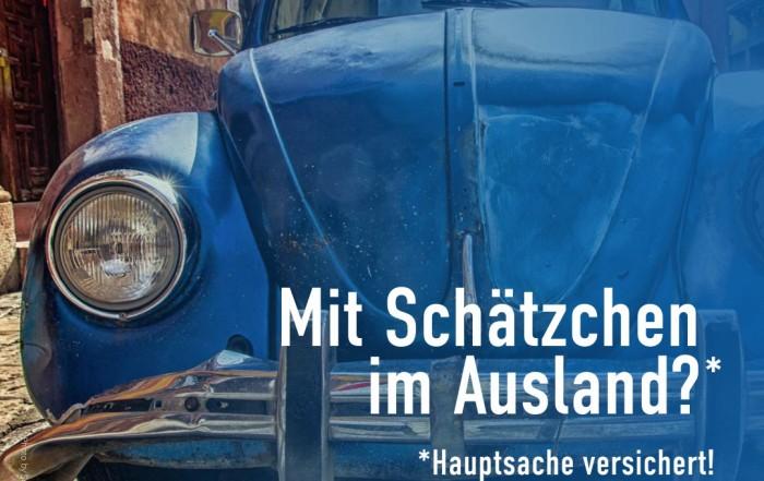 Autounfall im Ausland. Mit Schätchen im Ausland?