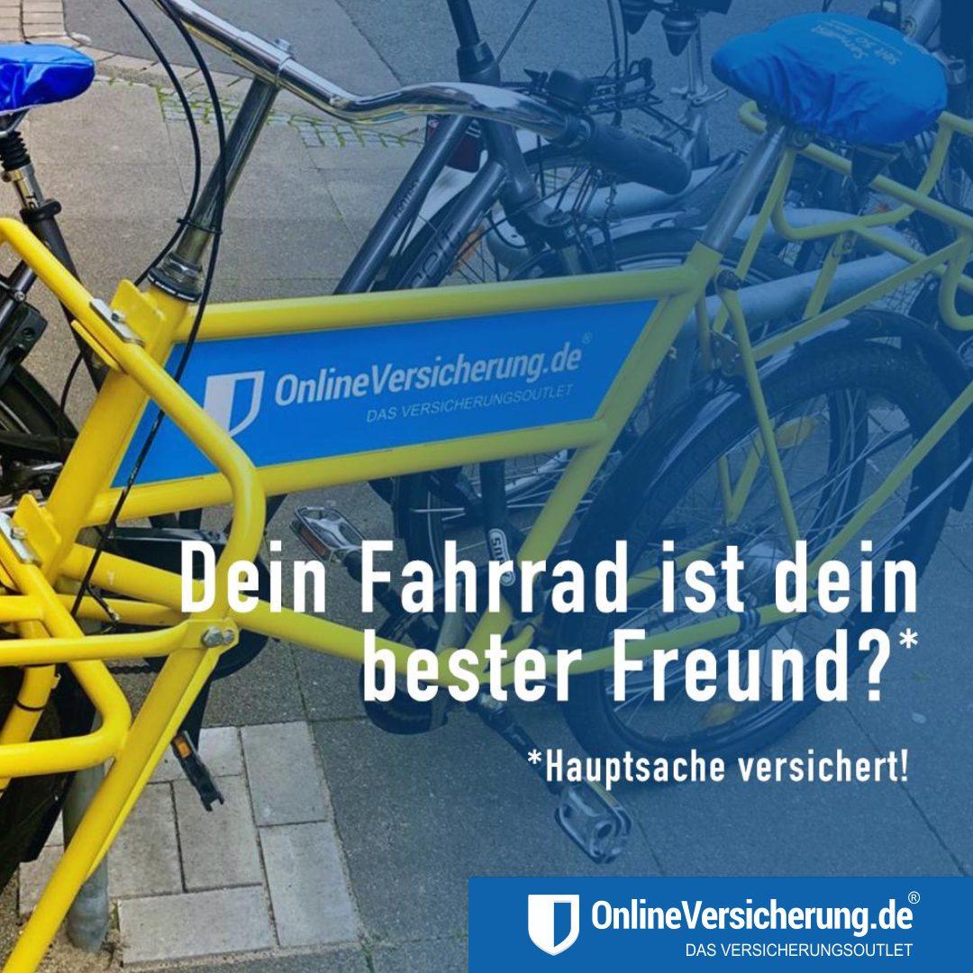 Dein Fahrrad dein bester Freund - Diebstahl-Fahrradversicherung