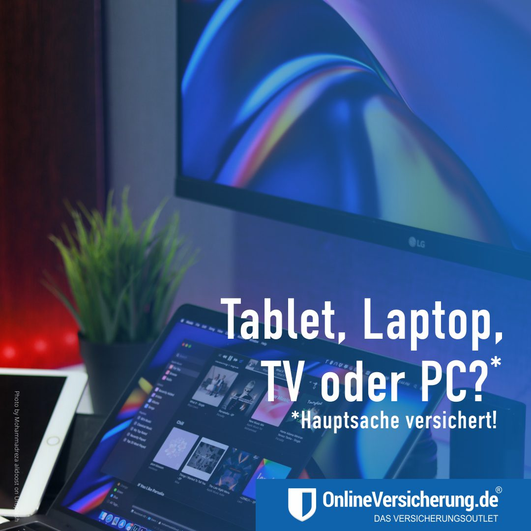 Schutzbrief für Notebooks, Tablets, Laptops & PC