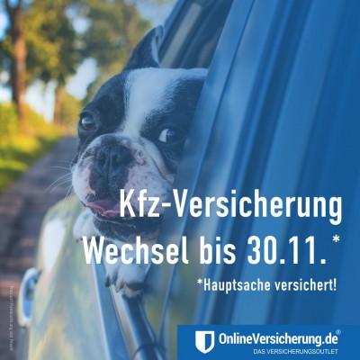 Kfz-Versicherung - Wechsel bis zum 30. November!