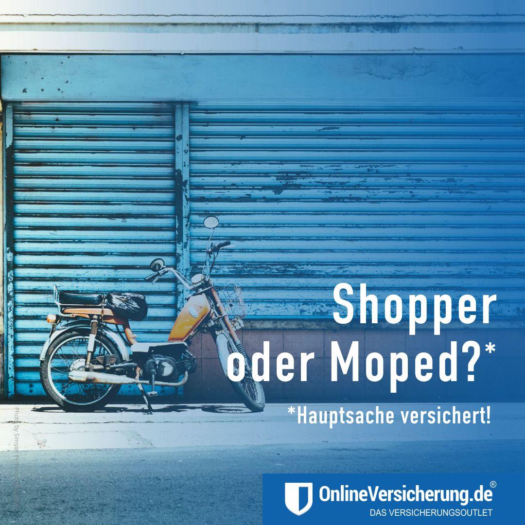 Die Mopedsaison beginnt bald