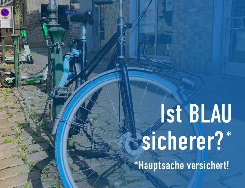 Fahrraddiebstahl – Ist BLAU sicherer?