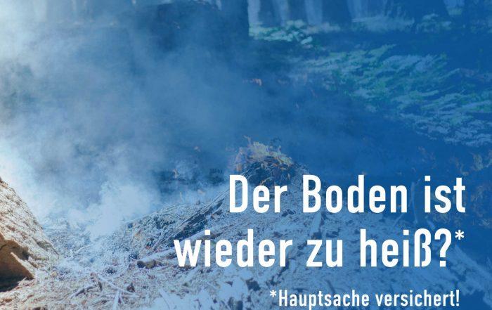 Wer kommt für Waldbrandschäden auf?