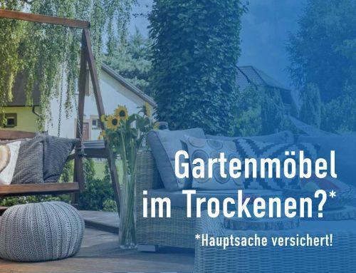 Sind Ihre Garten- und Balkonmöbel versichert?